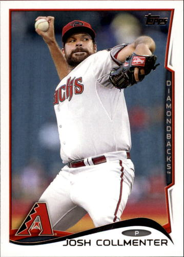 Photo of 2014 Topps Update #US107A Josh Collmenter