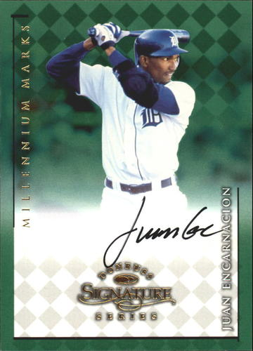 Photo of 1998 Donruss Signature Autographs Millennium #38 Juan Encarnacion