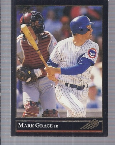 Photo of 1992 Leaf Black Gold #26 Mark Grace