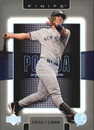 Photo of 2003 Upper Deck Finite #62 Jorge Posada