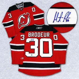 Martin Brodeur New Jersey Devils Autographed Reebok Premier Hockey Jersey