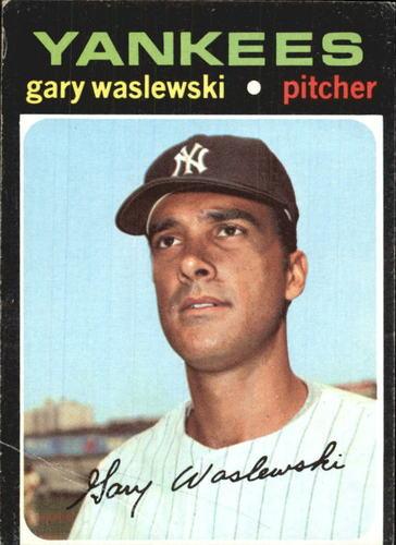 Photo of 1971 Topps #277 Gary Waslewski