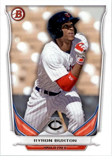 Photo of 2014 Bowman Draft Top Prospects #TP69 Byron Buxton