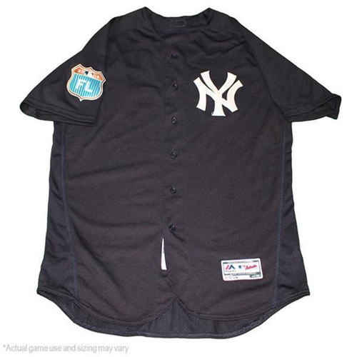 Photo of Dellin Betances New York Yankees 2017 Spring Training Home Game-Used #68 Jersey (Size 52)