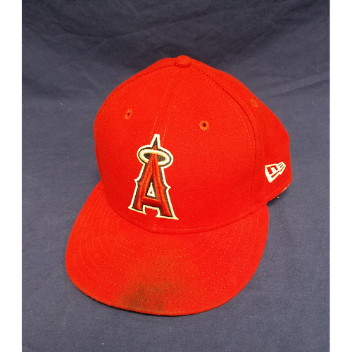Photo of Kole Calhoun Game-Used Cap