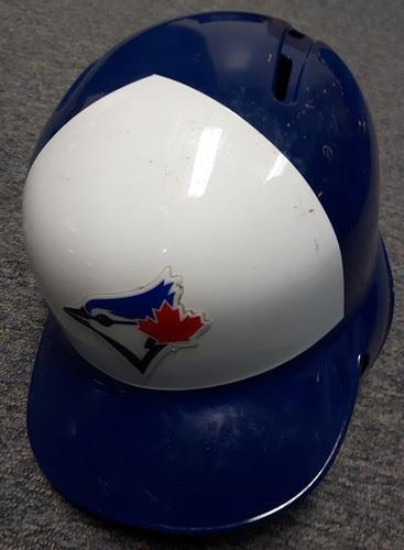 Photo of Authenticated Team Issued Helmet - #55 Russell Martin. Size 7 1/2.