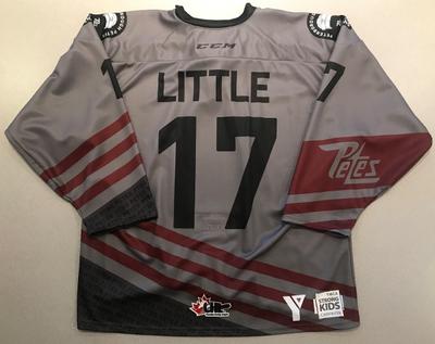 Michael Little (#17) - '93 Petes Alumni Jersey