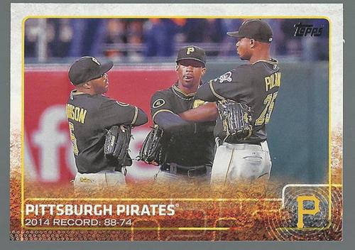 Photo of 2015 Topps #271 Pittsburgh Pirates