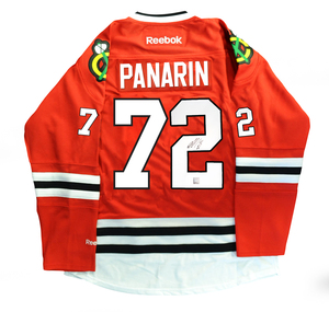 Artemi Panarin - Signed Chicago Blackhawks Red Jersey