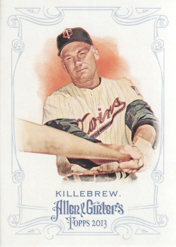Photo of 2013 Topps Allen and Ginter #145 Harmon Killebrew