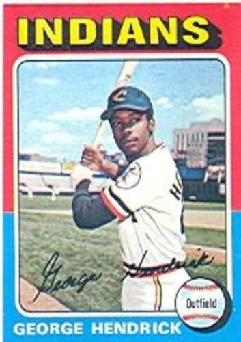 Photo of 1975 Topps #109 George Hendrick