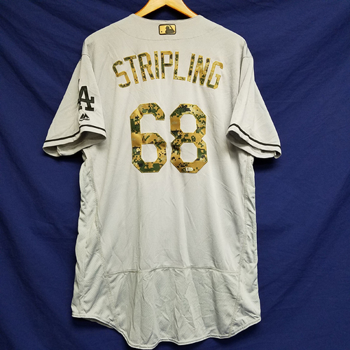 Photo of Ross Stripling 2016 Team-Issued Road Memorial Day Jersey