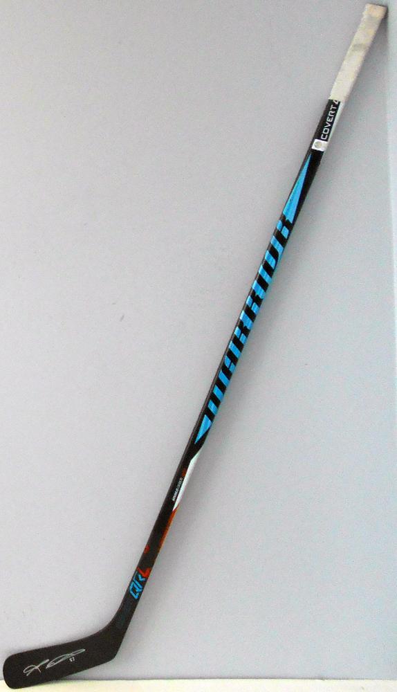 #55 MarkLetestu Game Used Stick - Autographed - Edmonton Oilers
