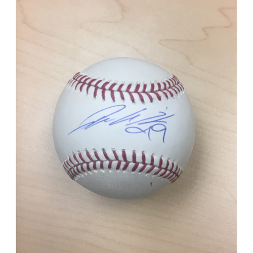 Photo of LA Dodgers Foundation Online Auction: Hyun-Jin Ryu Autographed Baseball