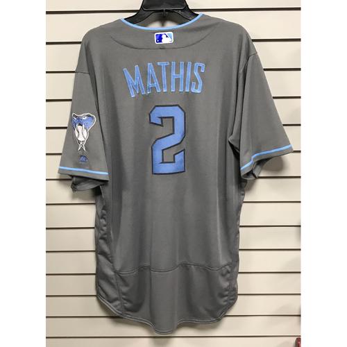 Photo of Jeff Mathis Game-Used 2017 Father's Day Jersey
