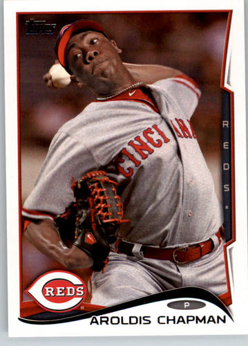 Photo of 2014 Topps #77 Aroldis Chapman
