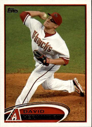 Photo of 2012 Topps #101 David Hernandez