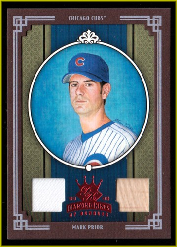 Photo of 2005 Diamond Kings Materials Framed Red #48 Mark Prior Bat-Jsy/100