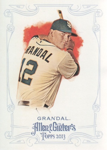 Photo of 2013 Topps Allen and Ginter #114 Yasmani Grandal