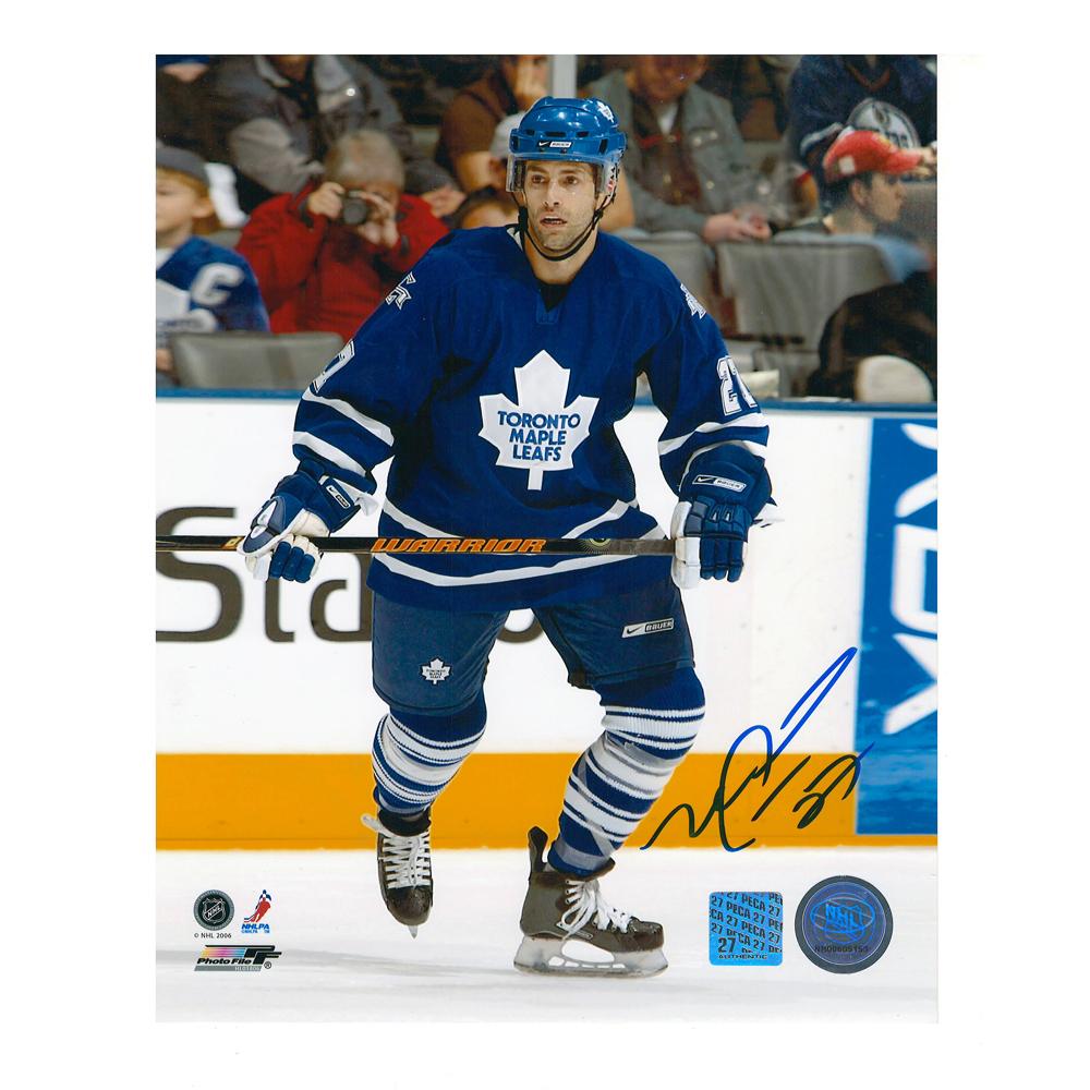 MICHAEL PECA Signed Toronto Maple Leafs 8 X 10 Photo - 70382