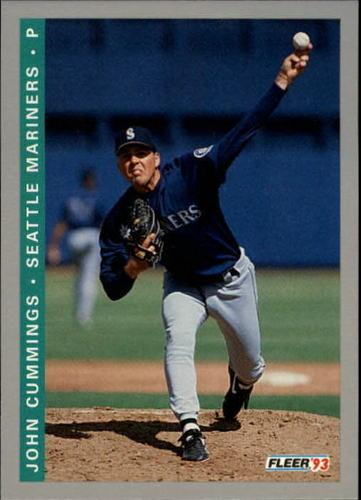 Photo of 1993 Fleer Final Edition #268 John Cummings RC