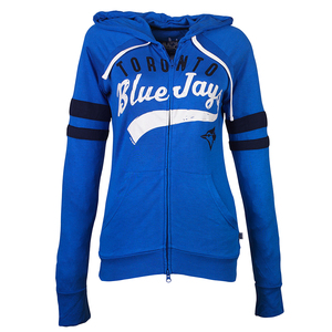 Toronto Blue Jays Women's Rundown Hoody by Touch