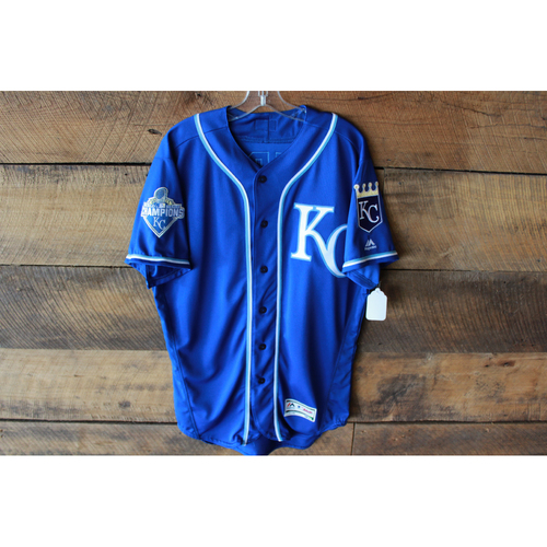 Photo of Raul Mondessi Game-Used Jersey (9/24/16 KC @ DET) (Size 44)