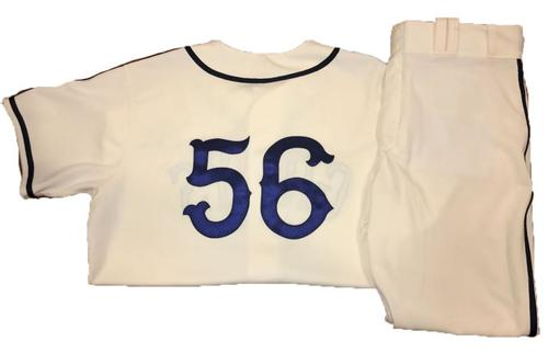 Photo of Euclides Rojas Game-Used Homestead Greys Jersey and Pants