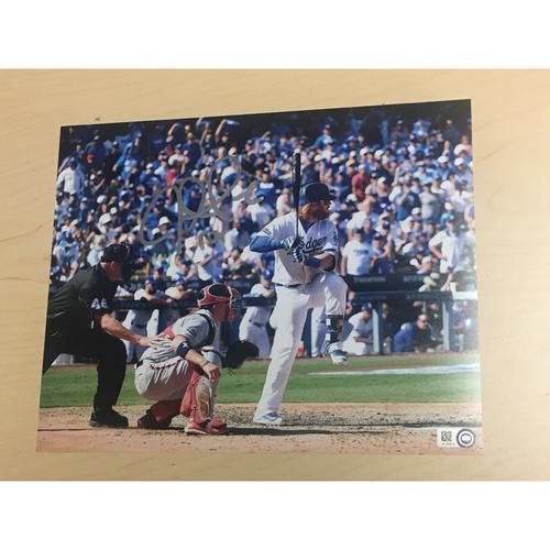 Photo of LA Dodgers Foundation Online Auction: Justin Turner Autographed Photo