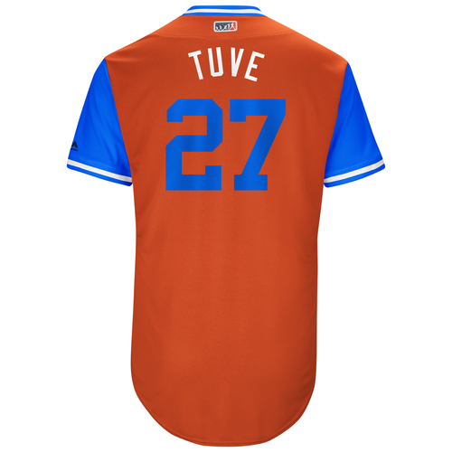 "Photo of Jose ""Tuve"" Altuve Houston Astros Game-Used Players Weekend Jersey"