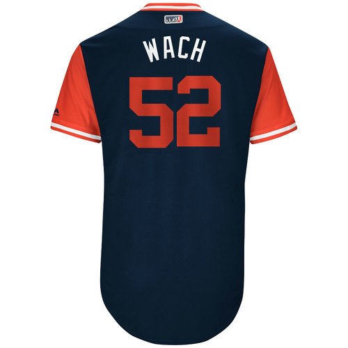 """Photo of Michael """"Wach"""" Wacha St. Louis Cardinals Game-Used Players Weekend Jersey"""