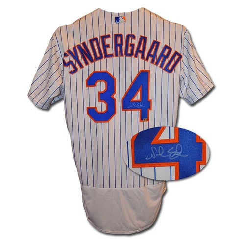 Photo of Noah Syndergaard - Autographed Jersey