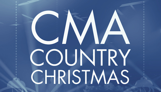 """""""CMA COUNTRY CHRISTMAS"""" TAPING + AUTOGRAPHED GUITAR - PACKAGE 3 of 3"""