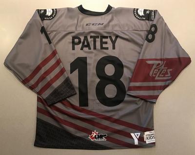 Cole Patey (#18) - '93 Petes Alumni Jersey