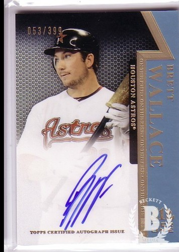 Photo of 2011 Topps Tier One On The Rise Autographs #BW Brett Wallace/399