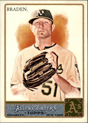 Photo of 2011 Topps Allen and Ginter #268 Dallas Braden