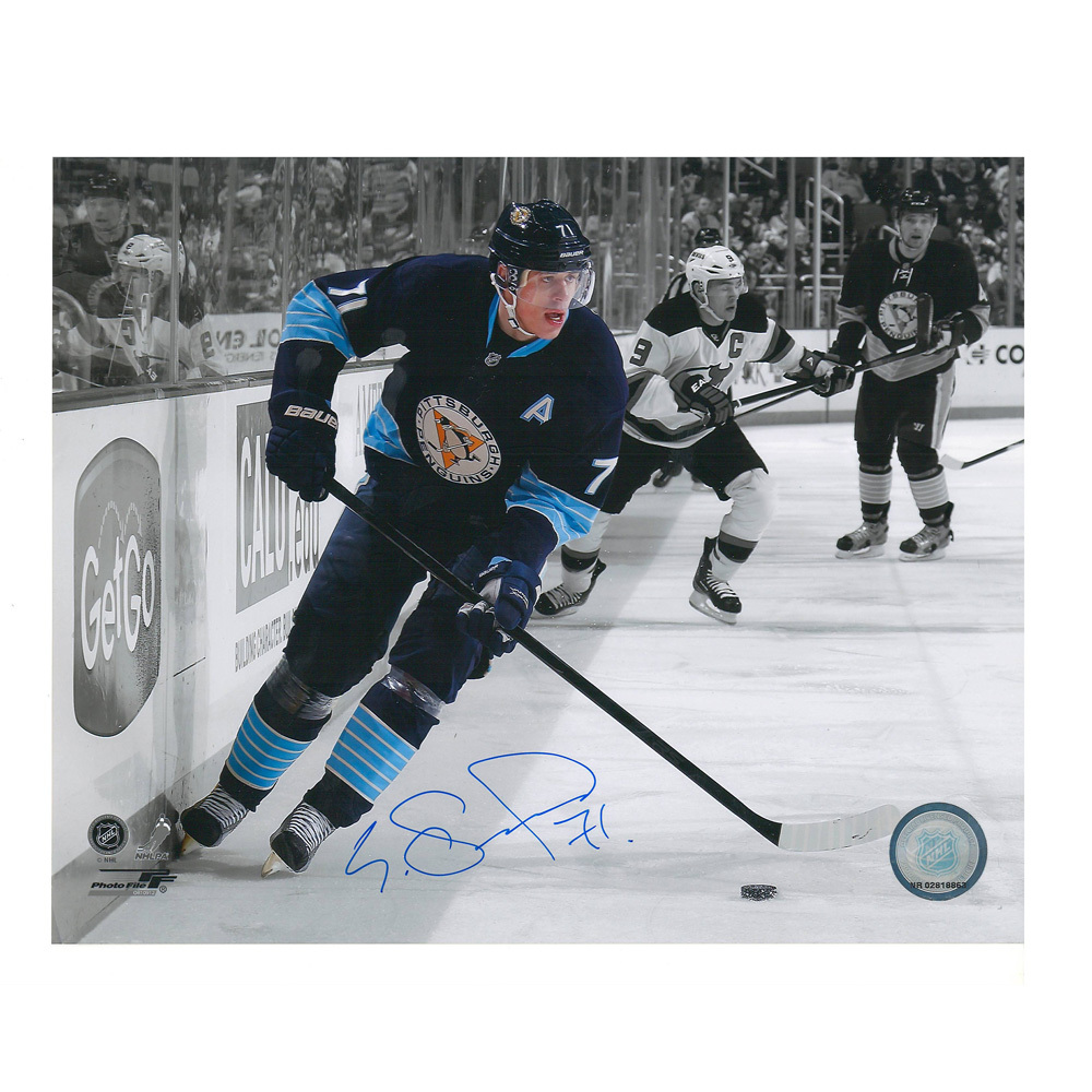 EVGENI MALKIN Signed Pittsburgh Penguins 8 X 10 Photo - 70041