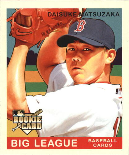 Photo of 2007 Upper Deck Goudey #229 Daisuke Matsuzaka SP RC