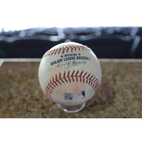 Photo of Game-Used Baseball: Randal Grichuk 78th Career Double (STL at KC - 8/7/17)