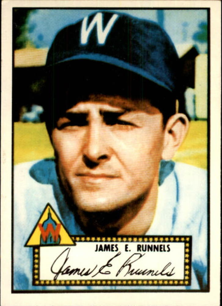 1983 Topps 1952 Reprint #2 Pete Runnels