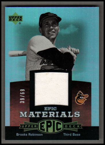 Photo of 2006 Upper Deck Epic Materials Red #RO Brooks Robinson Pants/69