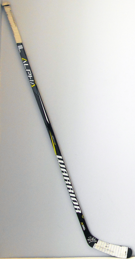 #27 Milan Lucic Game Used Stick - Autographed - Edmonton Oilers
