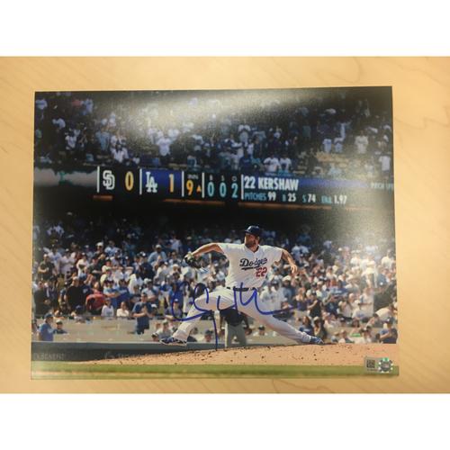 Photo of LA Dodgers Foundation Online Auction: Clayton Kershaw Autographed Photo