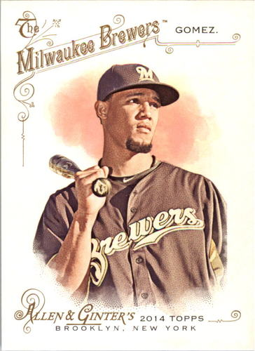 Photo of 2014 Topps Allen and Ginter #231 Carlos Gomez