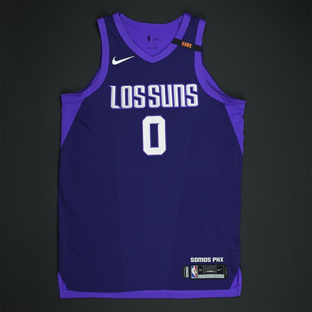Marquese Chriss - Phoenix Suns - Game-Worn 'Los Suns' City Jersey - 2017-18 Season