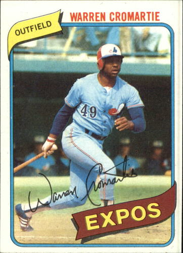 Photo of 1980 Topps #180 Warren Cromartie