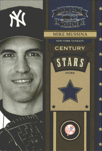 Photo of 2004 Throwback Threads Century Stars #33 Mike Mussina