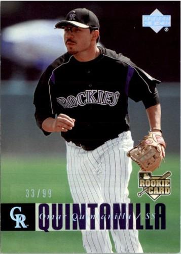 Photo of 2006 Upper Deck Silver Spectrum #603 Omar Quintanilla