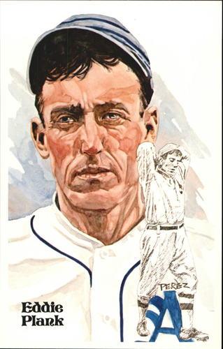 Photo of 1980-02 Perez-Steele Hall of Fame Postcards #46 Eddie Plank -- Set #08689