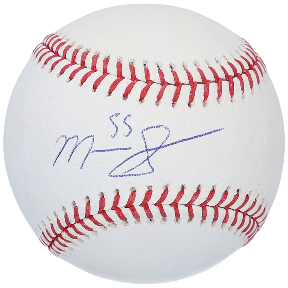 Mark Scheifele Winnipeg Jets Autographed Baseball With Free Mahogany Case
